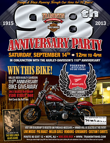 Tramontin Harley-Davidson 98th Anniversary Party