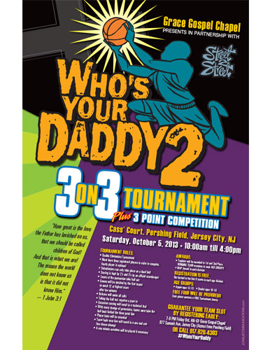 Who's Your Daddy Basketball Tournament