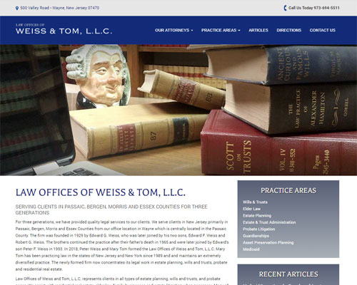 Law Offices of Weiss & Tom LLC